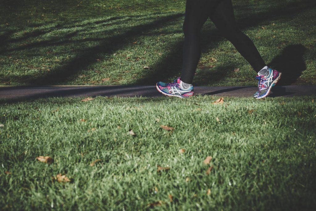 beating writer's block by exercising