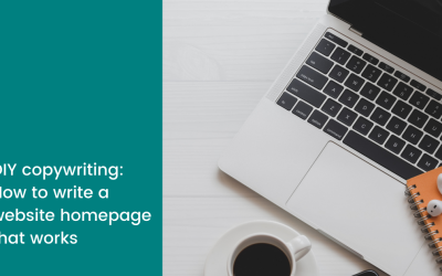 DIY copywriting: How to write a website homepage that works