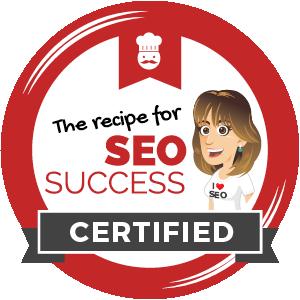 recipe for seo success certified