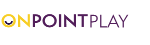 onpoint play logo colour
